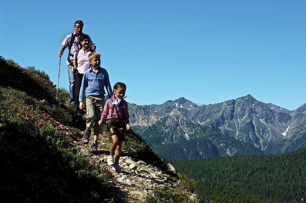 Südtiroler Bergromantik im Urlaub auf dem Bauernhof in Meransen